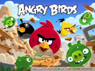 angry birds 320 x 240