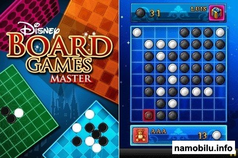 Disney Board Games Master - JAVA игры