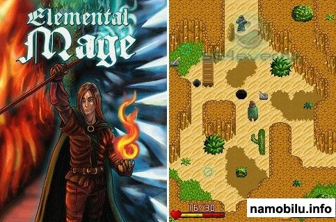 Elemental Mage - Mobile Java Games