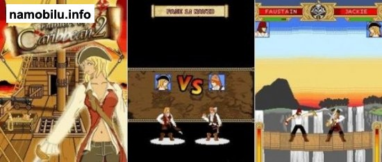 Fighters of Caribbean 2 - Mobile Java Games